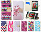 For LG Ultimate 2 L41C Premium Leather Wallet Pouch Flip Cover +Screen Protector