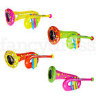 Fancy Dress Inflatable Instruments Tuba Horn Clown Fun Blow Up Circus Novelty
