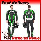 RST TRACTECH EVO II 1415 MENS Green ONE PIECE 1PC LEATHER RACE SPORTS BIKE SUIT