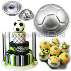 2pcs 3D Ball Mold Sport Party Decorating Fondant Cake Mould Baking Pan Tin FZ