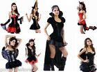Fancy Dress Sexy Hot Womens Halloween Party Devil Pirate Vampire Outfit Costume