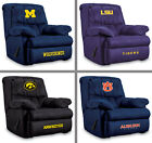 Choose Your NCAA Team Soft Microfiber Home Team Recliner Arm Chair by Imperial