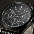 CURREN Mens Date 4 Colours Steel Band Office Quartz Wrist Watch Gift Cool