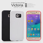 For Samsung Galaxy S6 Edge Nillkin Victoria Leather Back Shell Cover Skin Case