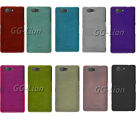 Brushed Gel TPU Case Cover Skin for Sony Xperia Z3 Compact, D5833 D5803 Z3 mini