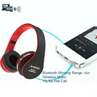 Foldable Wireless Stereo Bluetooth Headphone Earphone Headset For iPhone Samsung