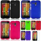 For Motorola Moto G Rubberized HARD Protector Case Snap On Phone Cover