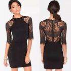 New Hot Fashion Women Short Slim Sexy Bodycon Party Cocktail Evening Lace Dress