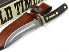 Schrade Old Timer Mountain Lion Hunting Knife Fixed Blade Full Tang Sheath 160OT