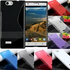 ※S Line※ Soft TPU Gel Silicone Case Cover For ZTE Blade L2/Grand X Max/Vec 4G/S6
