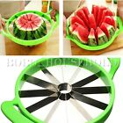 Watermelon Cutter Cantaloupe Melon Stainless Steel Slicer Kitchen Fruit Tool
