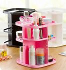 360-degree Rotating Display Stand Makeup Organizer Case Cosmetic Make Up Holder