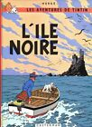 Vintage Tintin Book Cover L'Ile Noire The Black Island Poster  A3 Print