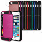 NEW HARD BACK ULTRA SLIM CASE COVER CARD HOLDER FOR YOUR MOBILE PHONE