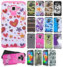 For Samsung Galaxy Grand Prime HARD Hybrid Rubber Silicone Case Phone Cover