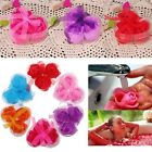 3pcs Bath Body Heart Rose Petal Favor Flower Soap Wedding Party Decoration Gift
