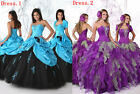 Popular Hot Quinceanera Gown Wedding Dress Bridal Gown Prom Ball Pageant Party