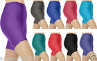 NEW Ladies WOMEN`S CYCLING SHORTS DANCING SHORTS NYLON LYCRA SHORTS