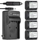 NP-FH50 Battery + Charger For Sony NP-FH40 NP-FV50 DSC-HX1 HX100V A230 A330 A380
