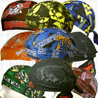 CFL College Official Team License Product Doo Rag Du Head Wear Gear Skull Cap