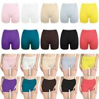 Women Dance Costume Safety Underwear Cotton Plain Tight Legging Yoga Short Pants