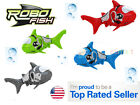 Robo Shark 4 Colors Battery Powered Water Activated Fish Kids Toy Pet Gift