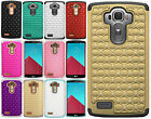 For LG G4 HYBRID IMPACT Hard Dazzling Diamond Case Phone Cover Accessory