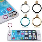 5x Aluminium Home Button Circle Ring Stickers Cover Sticker For iPhone 5 6 iPad