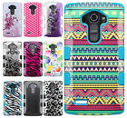 For LG G4 Rubber IMPACT TUFF HYBRID Case Skin Phone Cover Accesssory