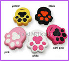 Cute Paw Prints Design Contact Lens Case with Soaking Case and Mirror NEW