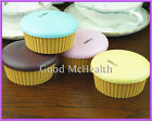Cake Design Contact Lens Case with Soaking Case and Mirror 2015 NEW