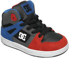 DC TODDLER REBOUND SKATEBOARDING SHOES NIB BLACK ROYAL ATHLETIC RED  (BYA)