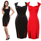 CLEARANCE~ Vintage Style Dress 50s 40s Rockabilly Swing Pin up Evening TEA Dress
