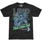 7.62 DESIGN LEAD IT'S WHAT'S FOR DINNER GRAPHIC T-SHIRT MENS MILITARY TOP BLACK