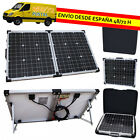 PANEL SOLAR PLEGABLE MALETIN PORTATIL 12V 40W KIT CON REGULADOR DE CARGA