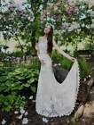 AUTHENTIC Nicole Miller Riley KJ10000 Ivory Lace NEW Bridal Gown  RETURN POLICY