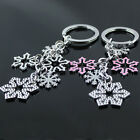 New Style Popular Unisex Accessories Snowflake Cute Keychain Keyring Gift Metal