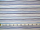BABY BOUTIQUE - BLUE STRIPE 100% cotton patchwork fabric