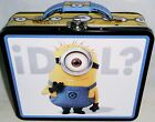 "DESPICAPLE ME  Lunch/Carry-All Box by The Tin Box Co 7.50"" X 6""x 2.75"" STUART"