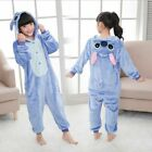 Unisex Adult Kids Kigurumi Pajamas Onesie1 Cosplay Costume Animal Sleepwear