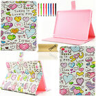 For iPad 2 3 4/Air/Air2/Mini/Pro Cute Magnetic Flip PU Leather Stand Cover Case