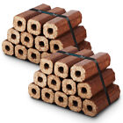 Premium Eco Wooden Heat Logs Fuel for Firewood, Open Fires, Stoves & Log Burner