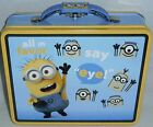 "DESPICAPLE ME  Lunch/Carry-All Box by The Tin Box Co 7.50"" X 6""x 2.75"" DAVE"