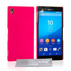Yousave Accessories Sony Xperia Z3+ Plus Best Hard Tough Fitted Phone Case Cover