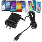 US Plug Micro USB AC Wall Home Travel Charger Power Adapte For Samsung CellPhone