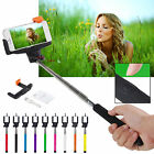 Extendable Handheld Bluetooth Selfie Adhere Monopod Pole Holder For Smartphone