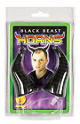 Black Beast Horns Maleficent Horns Black Horns Worlock Horns Evil Horns 6430
