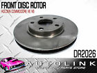 FRONT DISC BRAKE ROTOR TO SUIT HOLDEN VE COMMODORE CALAIS SV6 - V6 x1