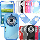 S Line Soft TPU Gel Silicone Case Cover For Samsung Galaxy K Zoom S5 C115 C111