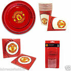 New Official Manchester United Football Complete Party kit accessories